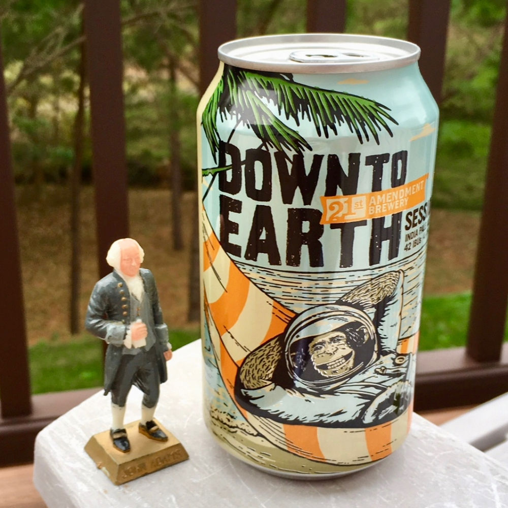 21st Amendment Brewery Down To Earth Session IPA