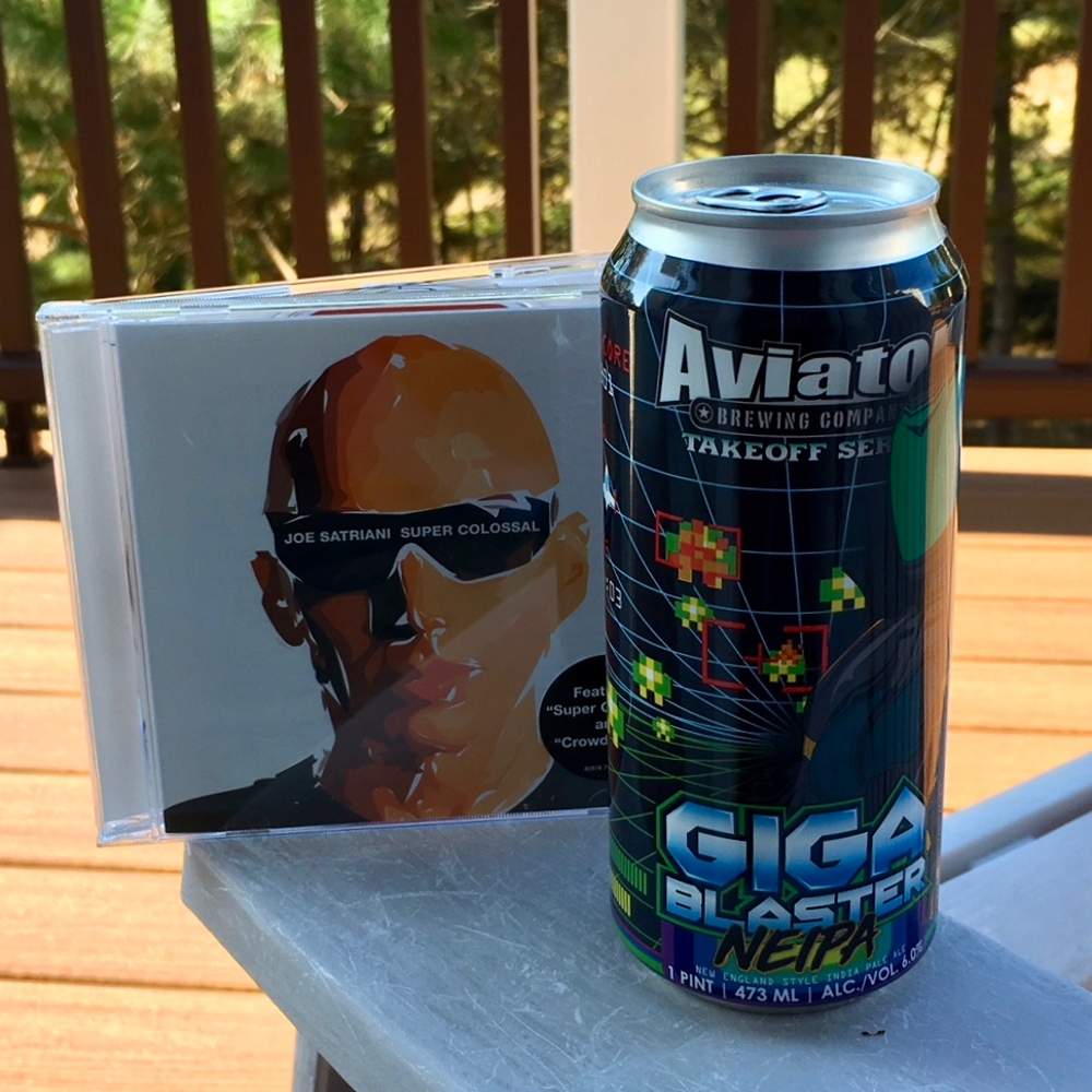Aviator Brewing Giga Blaster NEIPA New England Style India Pale Ale