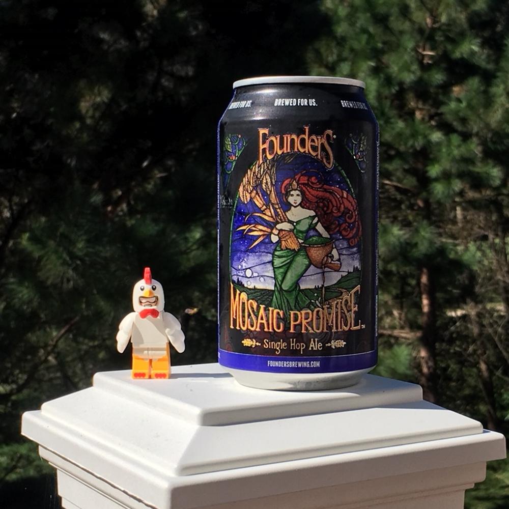 Founder's Mosaic Promise Single Hop Ale