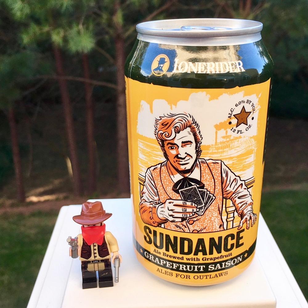 Lonerider Sundance Grapefruit Saison