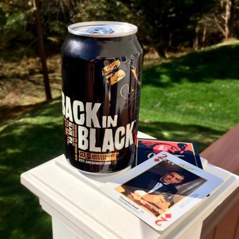 21st Amendment Brewery Back In Black Black IPA