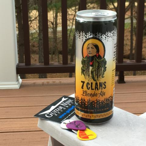 7 Clans Brewing Blonde Ale