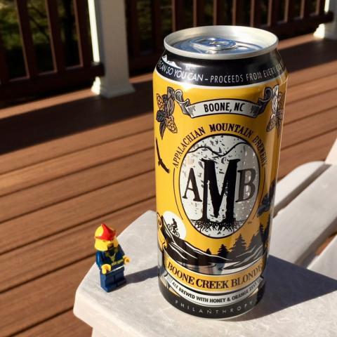AMB Boone Creek Blonde Ale