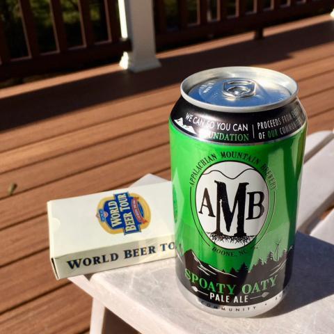 AMB Spoaty Oaty Appalachian Pale Ale