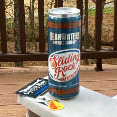 BearWaters Brewing Sliding Rock American Mild Ale