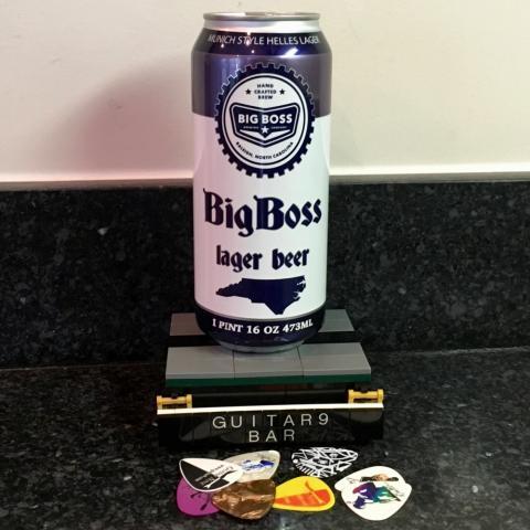 Big Boss Brewing Big Boss Lager