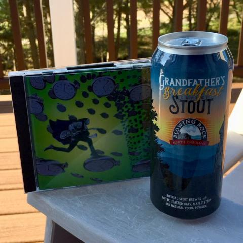 Blowing Rock Brewing Company Grandfather's Breakfast Coffee Stout