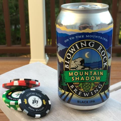 Blowing Rock Brewing Company Mountain Shadow Black IPA Alt A (12 oz)