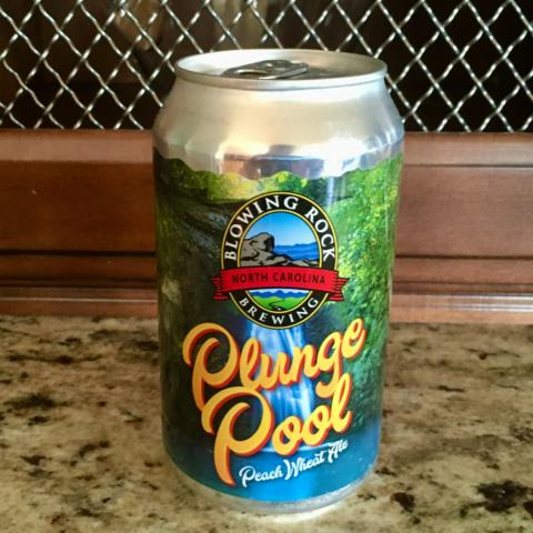 Blowing Rock Brewing Company Plunge Pool Peach Wheat Ale (12 oz)