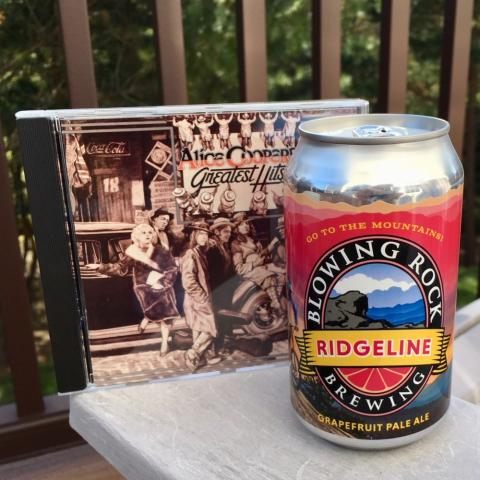 Blowing Rock Brewing Company Ridgeline Grapefruit Pale Ale