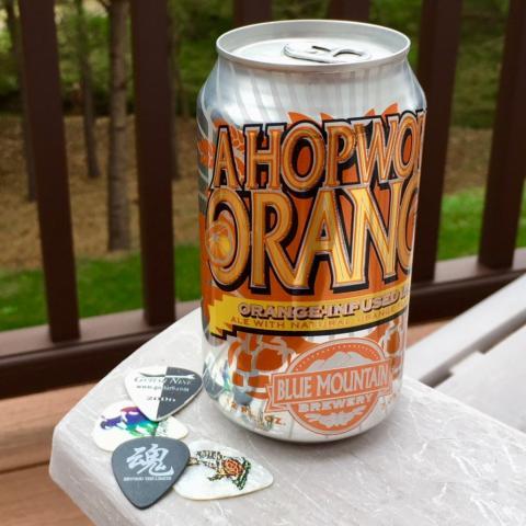 Blue Mountain Brewing A Hopwork Orange Orange-Infused IPA