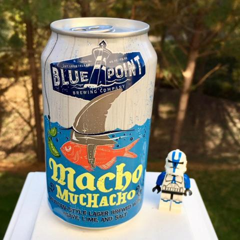 Blue Point Brewing Macho Muchacho Mexican Style Lager