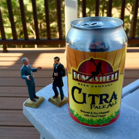 Bombshell Beer Company Citra Pale Ale
