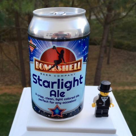 Bombshell Beer Company Starlight Ale