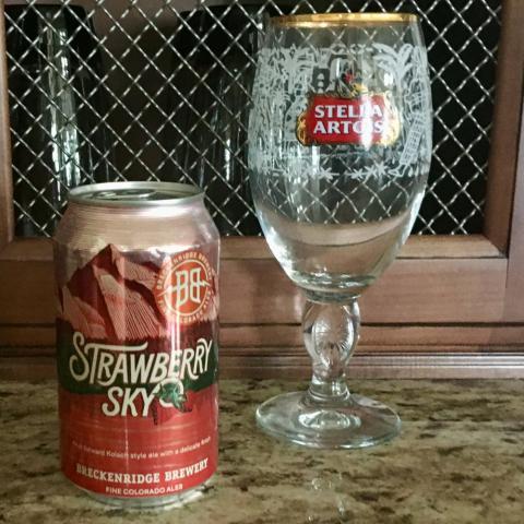 Breckenridge Brewery Strawberry Sky Kolsch Ale