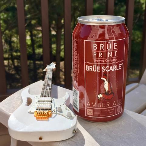Breuprint Brewing Brue Scarlet Amber Ale Alt
