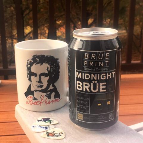 Breuprint Brewing Midnight Brue American Imperial Stout
