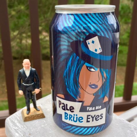 Breuprint Brewing Pale Brue Eyes Pale Ale