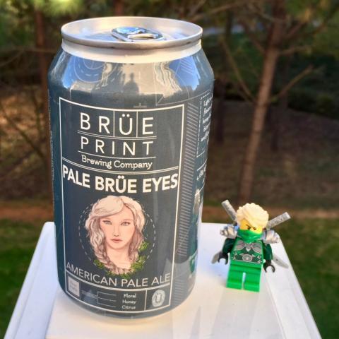 Breuprint Brewing Pale Brue Eyes American Pale Ale