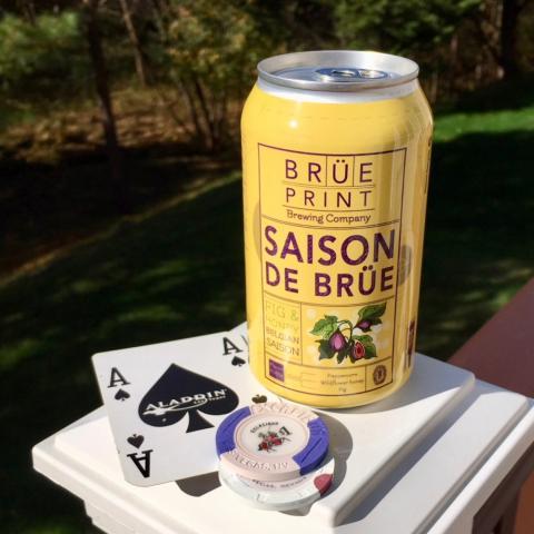 Breuprint Brewing Saison De Brue Belgian Saison