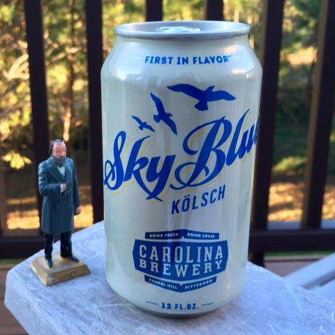 Carolina Brewery Sky Blue Kolsch