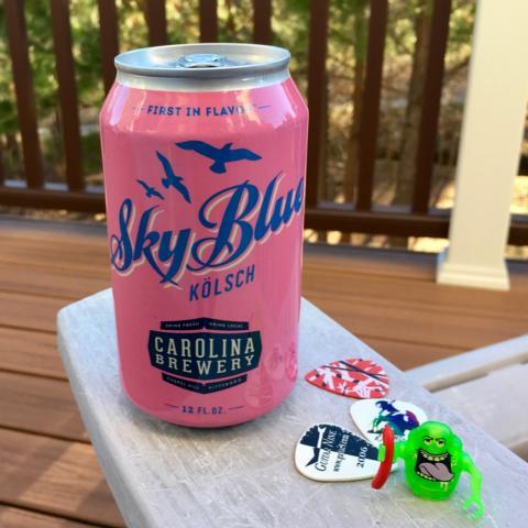 Carolina Brewery Sky Blue Kolsch Alt A