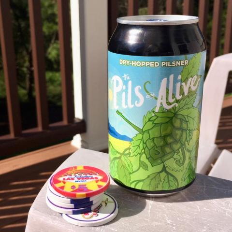 Champion Brewing The Pils Are Alive Dry-Hopped Pilsner