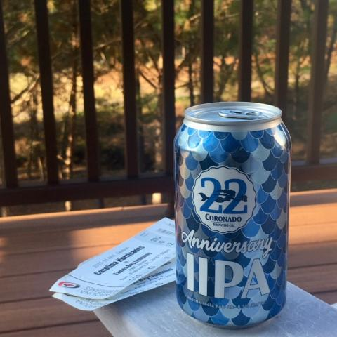 Coronado Brewing 22nd Anniversary IPA