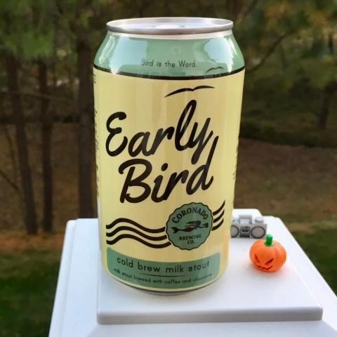 Coronado Brewing Early Bird Cold Brew Milk Stout