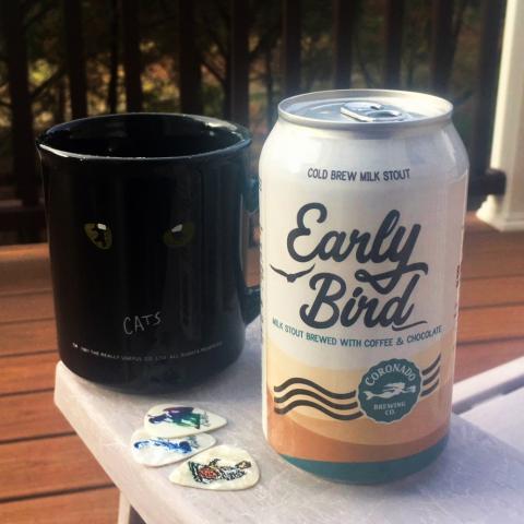 Coronado Brewing Early Bird Cold Brew Milk Stout Alt A
