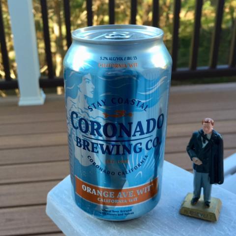 Coronado Brewing Orange Ave Wit California Wit