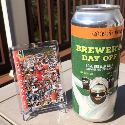 D9 Brewing Brewer's Day Off Gose