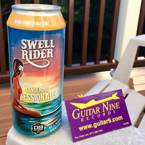 D9 Brewing Swell Rider Tangerine Session Ale