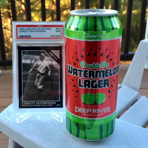 Deep River Double D's Watermelon Lager