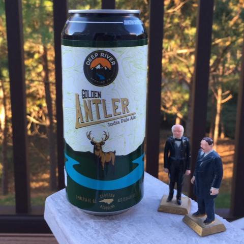 Deep River Golden Antler India Pale Ale