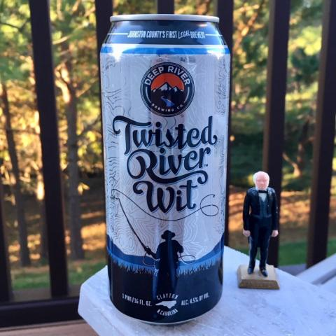 Deep River Twisted Oliver Wit Belgian-Style Ale
