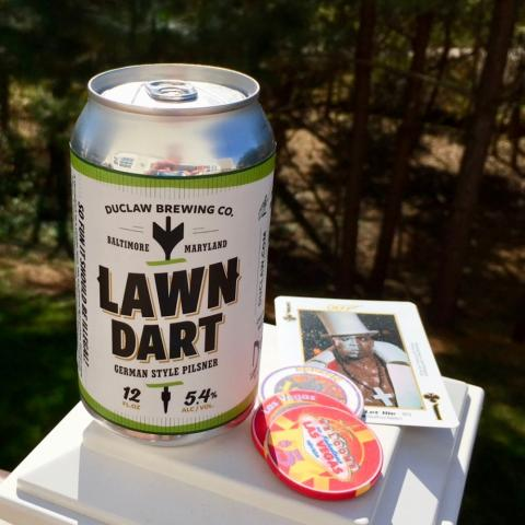 Duclaw Brewing Lawn Dart German Style Pilsner