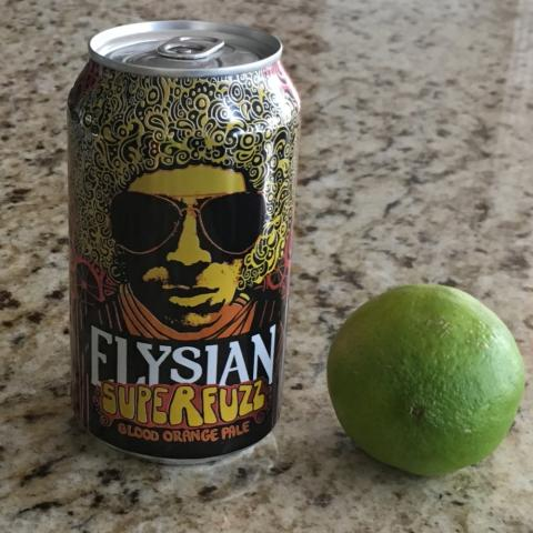 Elysian Brewing Superfuzz Blood Orange Pale Ale (12 oz)