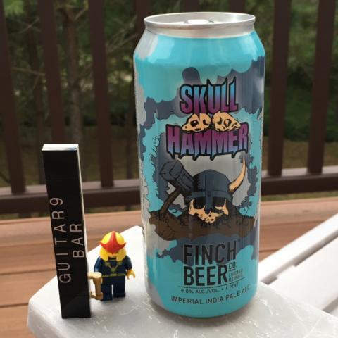 Finch Beer Skull Hammer Imperial IPA