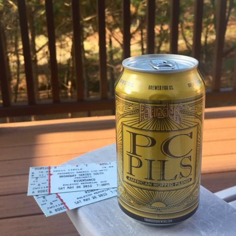 Founders PC Pils American Hopped Pilsner
