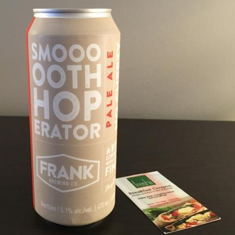 Frank Brewing Smooth Hoperator Pale Ale