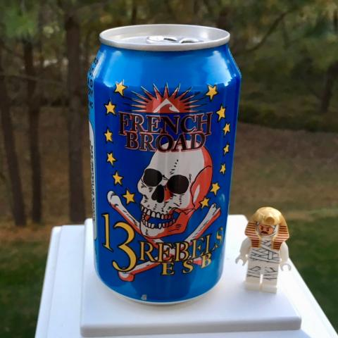 French Broad Brewing 13 Rebels ESB