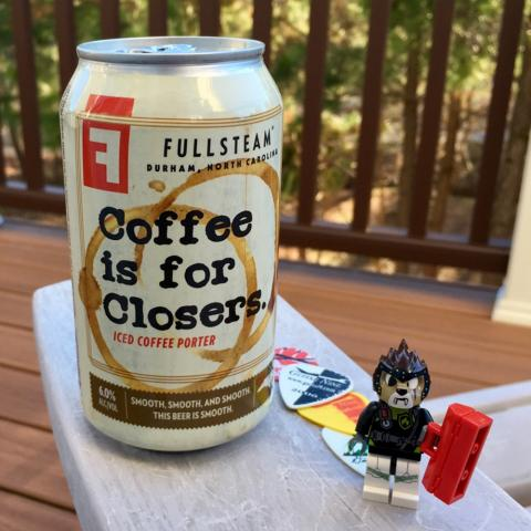 Fullsteam Coffee Is For Closers Iced Coffee Porter