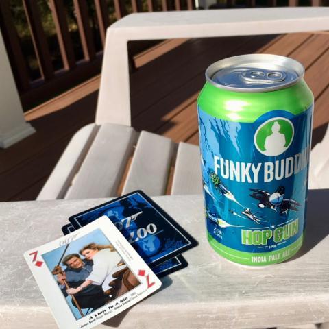 Funky Buddha Brewery Hop Gun India Pale Ale