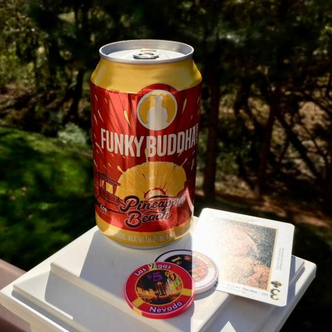 Funky Buddha Brewery Pinapple Beach Blonde Ale