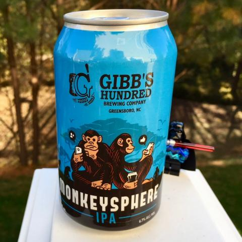 Gibb's Hundred Brewing Monkeysphere IPA