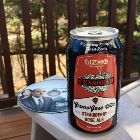 Gizmo Brew Works Gizmo Gose Wild Strawberry Gose Ale