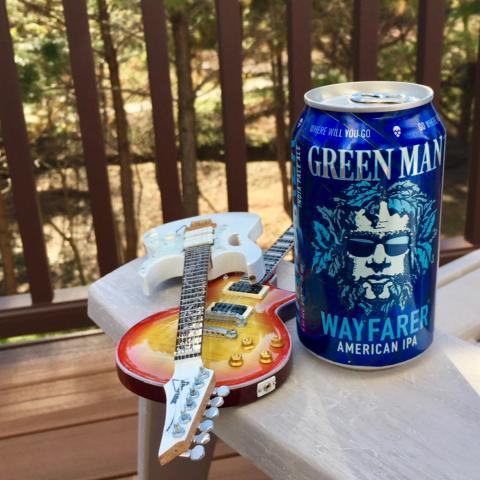 Green Man Wayfarer American IPA