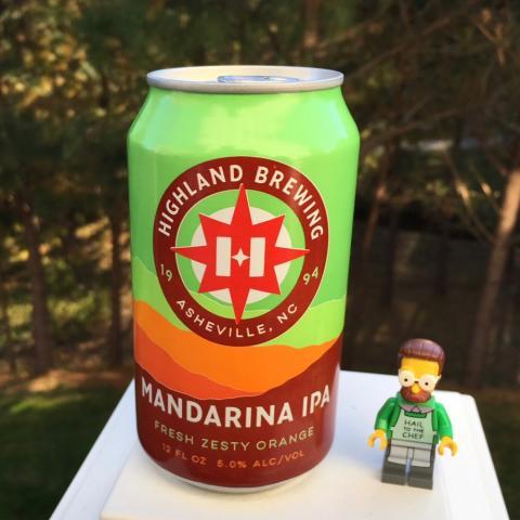 Highland Brewing Mandarina IPA