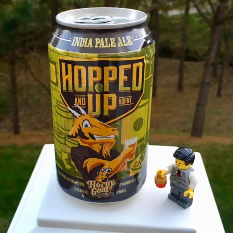 Horny Goat Brewing Hopped Up And Horny India Pale Ale